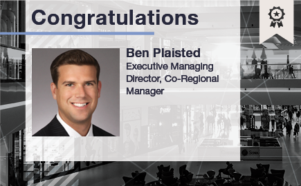 Ben Plaisted Named Co-Regional Manager in Washington, DC