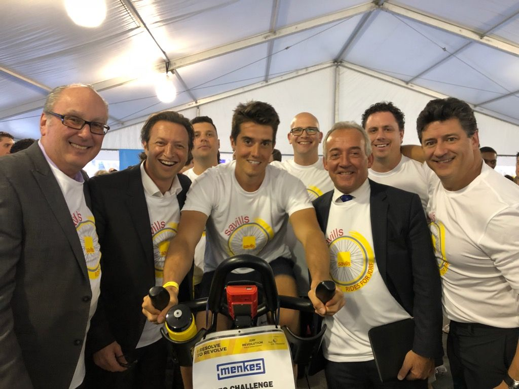 Savills Raises Money for Juvenile Diabetes Research Foundation in Toronto Real Estate Ride