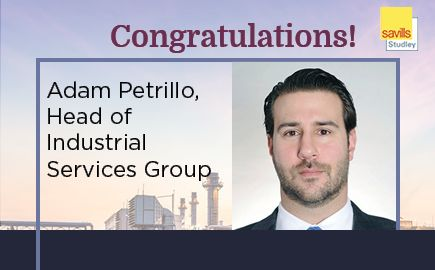 Savills Studley Appoints Adam Petrillo as Head of Industrial Services Group