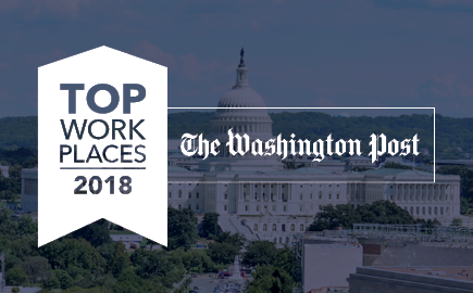 The Washington Post Names kamaco Studley a 2018 Top Workplace