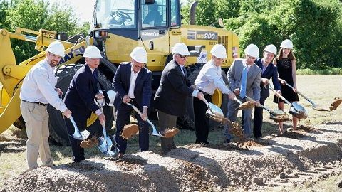 Savills Studley Joins Local Leaders at Mesa Creek Groundbreaking