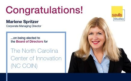 Savills Studley's Marlene Spritzer Joins NC COIN Board of Directors